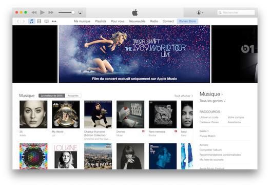 achat de music en ligne