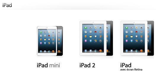acheter ipad mini 2