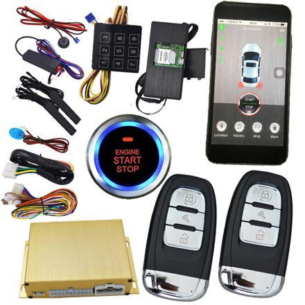 alarme voiture smartphone