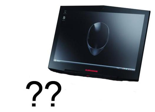 alienware tablette