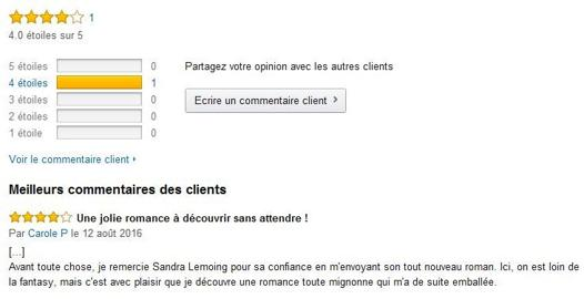 amazon commentaire