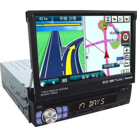 autoradio simple din gps