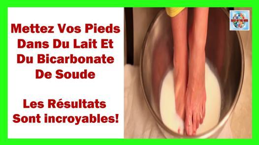 bain de pied bicarbonate de soude