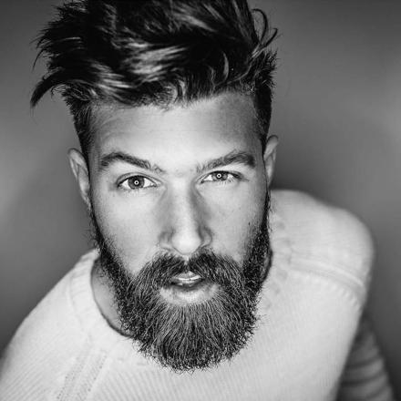 barbe tendance homme