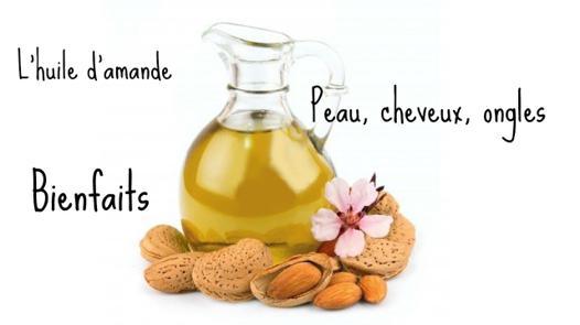 bienfait huile d amande douce