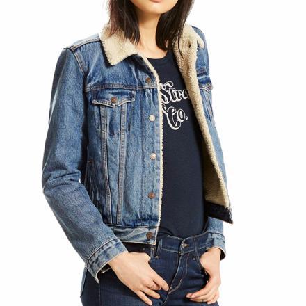 blouson en jean levis femme