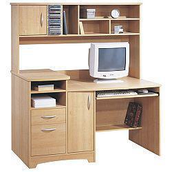 bureau informatique avec etagere