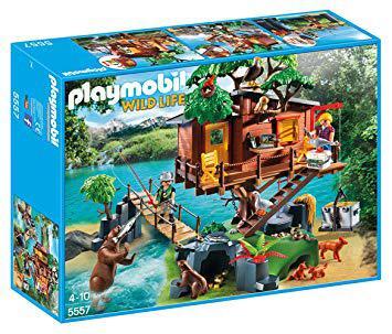 cabane aventurier playmobil