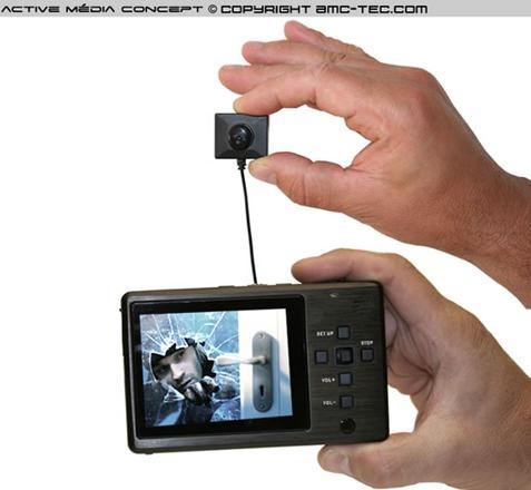 camera espion enregistreur professionnel