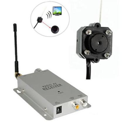camera espion vision nocturne sans fil