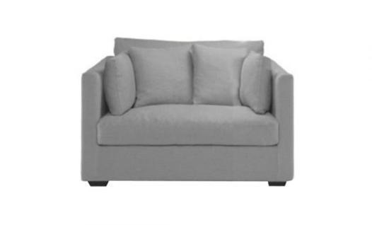 canapé 130 cm longueur