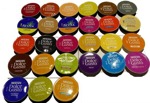 capsules nespresso dolce gusto