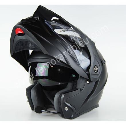 casque moto avec telephone intégré