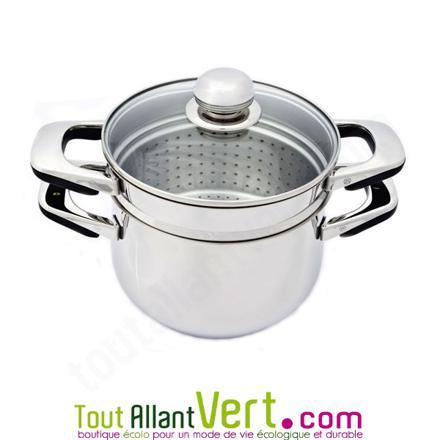 casserole avec passoire intégrée