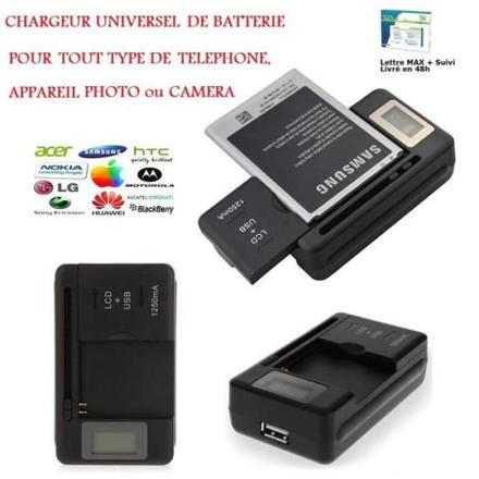 chargeur samsung universel