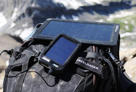 chargeur solaire test