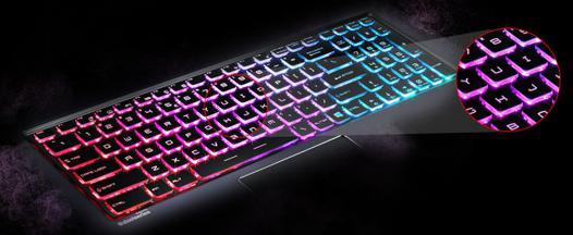 clavier sans fil lumineux
