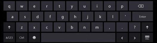 clavier tactile windows 8