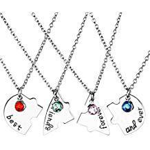 collier d'amitié pour 4 personnes