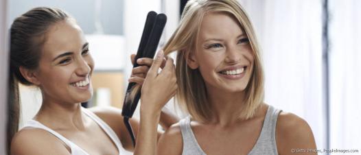 comment lisser les cheveux avec un lisseur