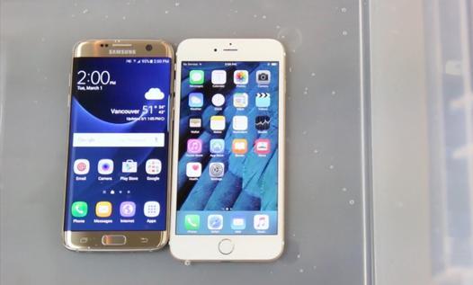 comparaison iphone 6 et galaxy s7
