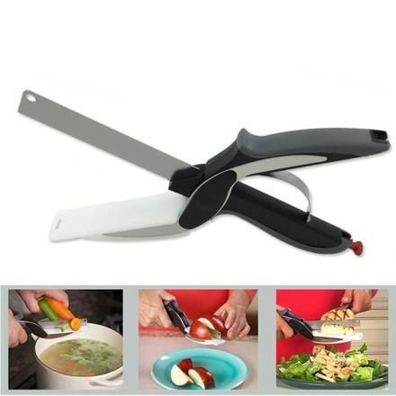 couteau 2 en 1 planche