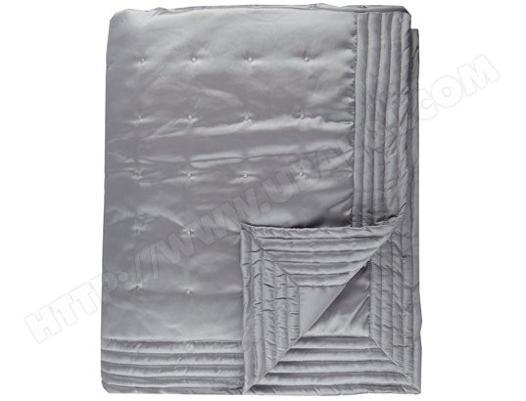 couvre lit argenté pas cher