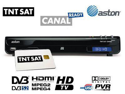 decodeur satellite hd canal ready