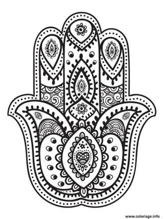dessin main fatma