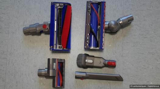 dyson v8 absolute 5 accessoires