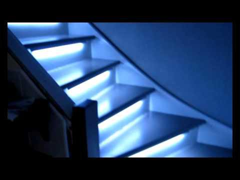 eclairage escalier sans fil