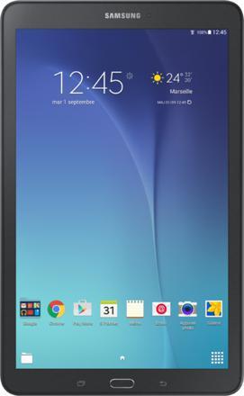 ecran noir tablette samsung