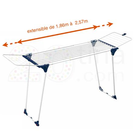 etendoir linge extensible