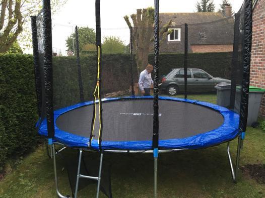 filet trampoline 370