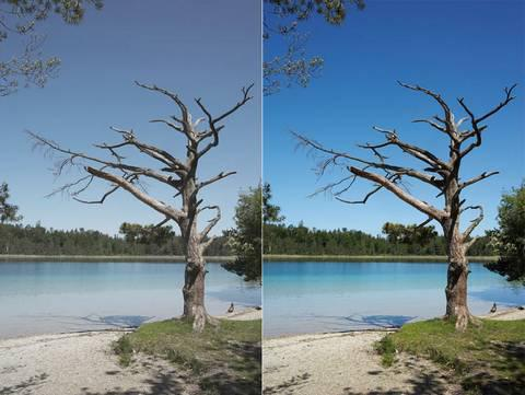 filtre uv photo