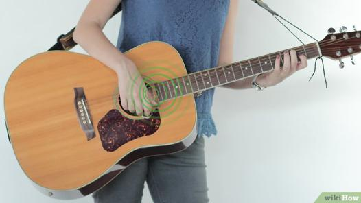 fixation sangle guitare