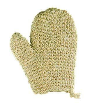 gant de crin naturel
