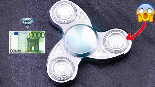 hand spinner le plus cher