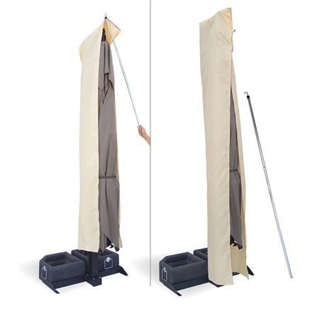 housse protection parasol déporté