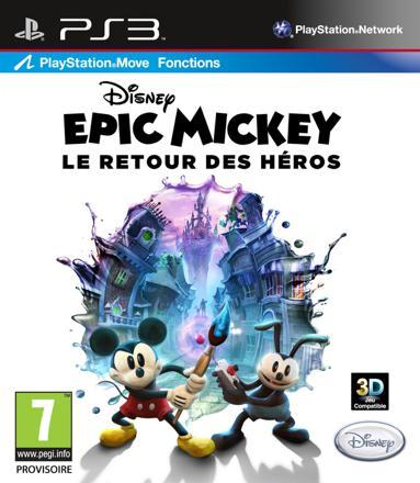 jeux ps3 mickey