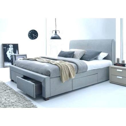 lit gris 140 x 190