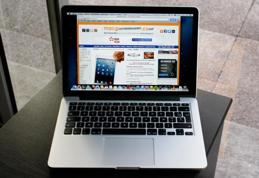 macbook pro 13 test