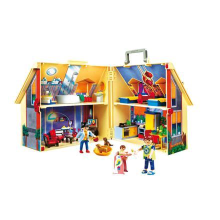 maison de playmobil transportable