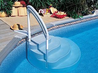 marche pour piscine hors sol