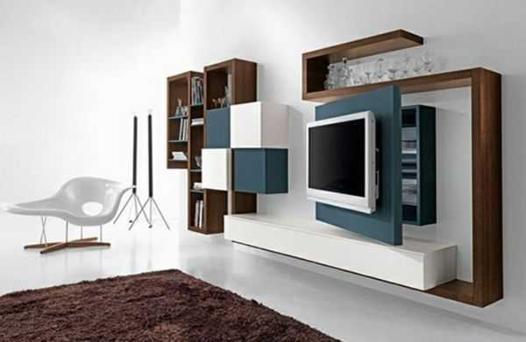 meuble mural salon