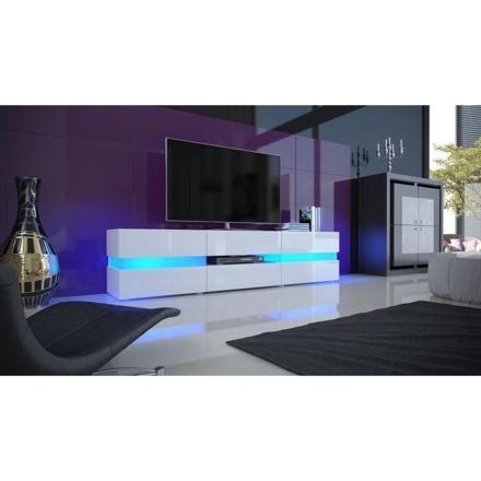 meuble tv à led