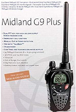 midland g9 plus export