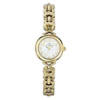 montre femme plaqué or