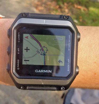 montre gps avec cartographie