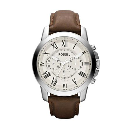 montre homme cuir fossil